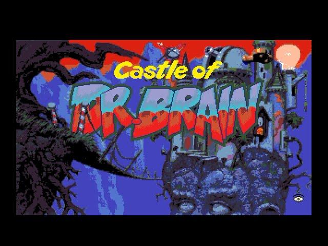 Amiga 500 Longplay [019] Castle Of Dr. Brain