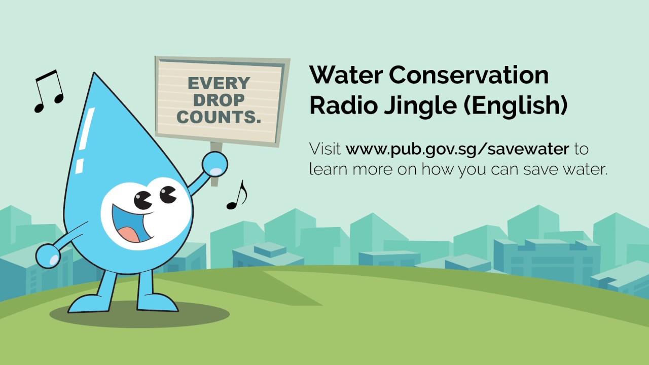 pub water conservation radio jingle english youtube