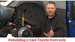 (2/2) How To Rebuild Your 4wd Toyota Front Axle Closed Knuckle