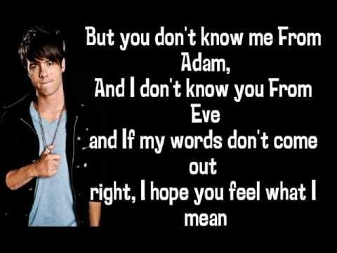 Travis Garland - From Adam (Interlude) Lyrics