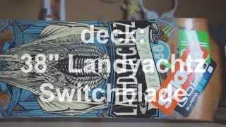 My Longboard Setup (Landyachtz Switchblade) | DividingDan