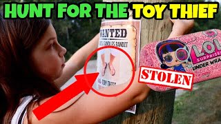 TOY THIEF OPENS OUR LOL DOLLS!! LOL SURPRISE SERIES 4 | Episode 3: HUNT for Game Master