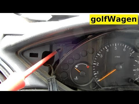Ford Focus Mk1 Instrument Cluster Removal