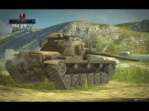 World Of Tanks Blitz Asia - M60 Class 1 Game Replay Thank You WG!