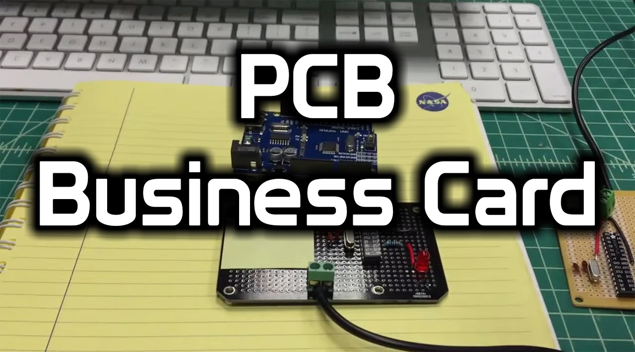 Arduino business card youtube
