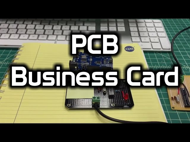Design your own pcb business card 3 steps with pictures colourmoves