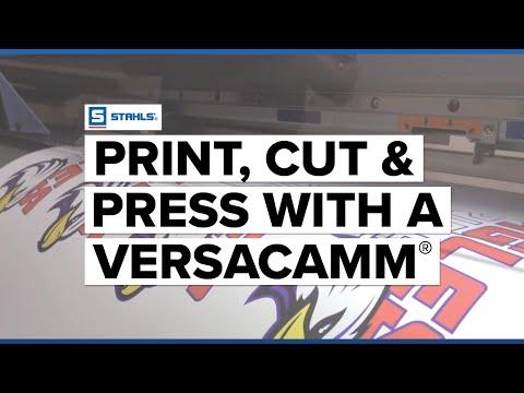 Print, Cut, & Press with a Roland VersaCAMM