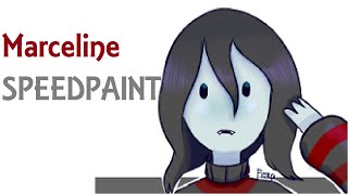 (Adventure Time) Marceline - SPEEDPAINT
