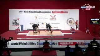 Тяжелая атлетика. Чемпионат мира 2013.  Женщины  до 48 кг