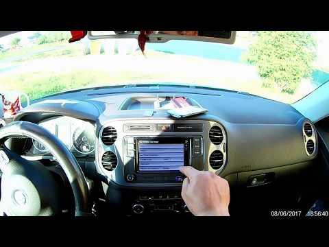 Установка RCD 330G плюс в VW Tiguan