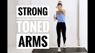 Arm TONING + STRENGTH Workout // For Strong, Toned Arms!