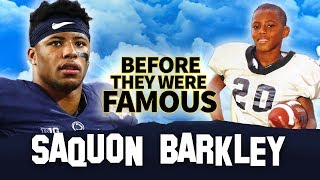 Saquon Barkley | Before They Were Famous | NFL 2018 Rookie Of The Year