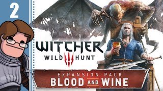 Let's Play The Witcher 3: Blood and Wine Part 2 - Shaelmaar Boss Fight (Death March Difficulty)