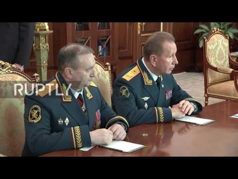 Russia: Putin calls on National Guard to ensure security at the 2018 World Cup