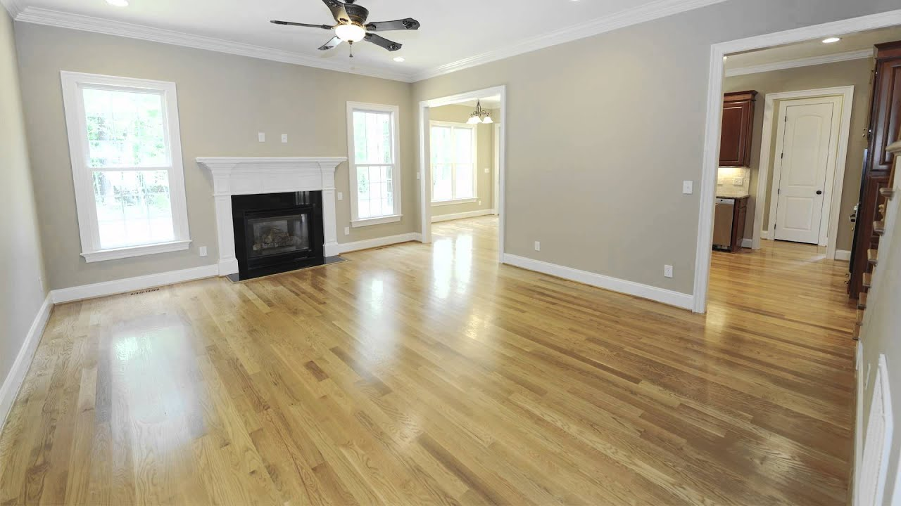 Red Oak Hardwood Flooring Red Oak Floor Red Oak Floors Youtube