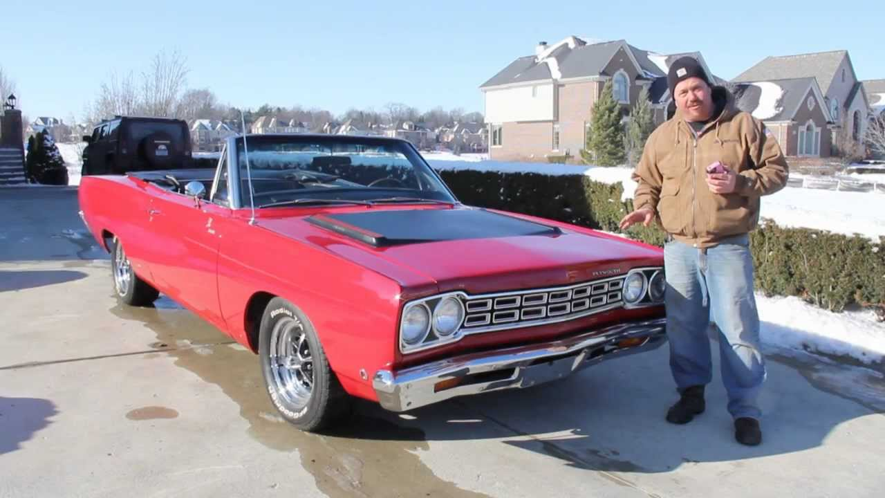 1968 plymouth road runner satellite convertible muscle car for sale in mi vanguard motor sales. Black Bedroom Furniture Sets. Home Design Ideas