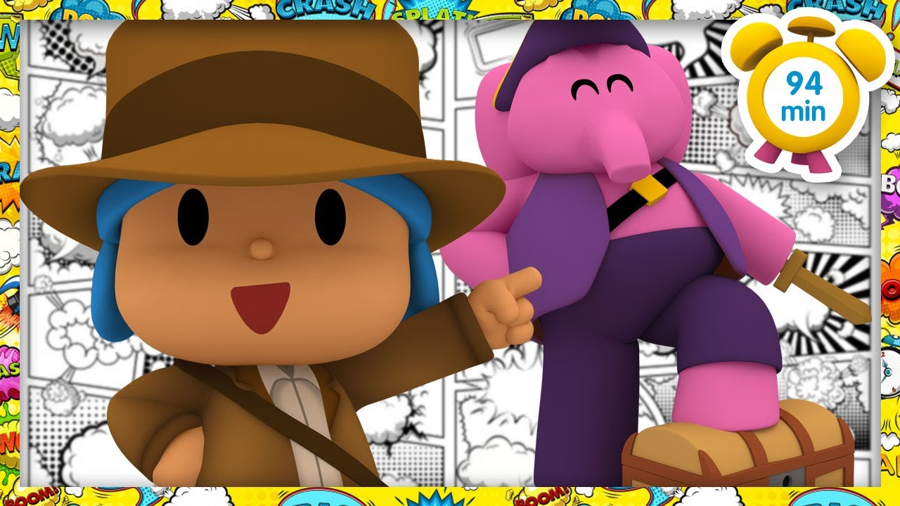 🐲 POCOYO in ENGLISH - The Adventure Begins [94 min]   Full Episodes   VIDEOS and CARTOONS for KIDS