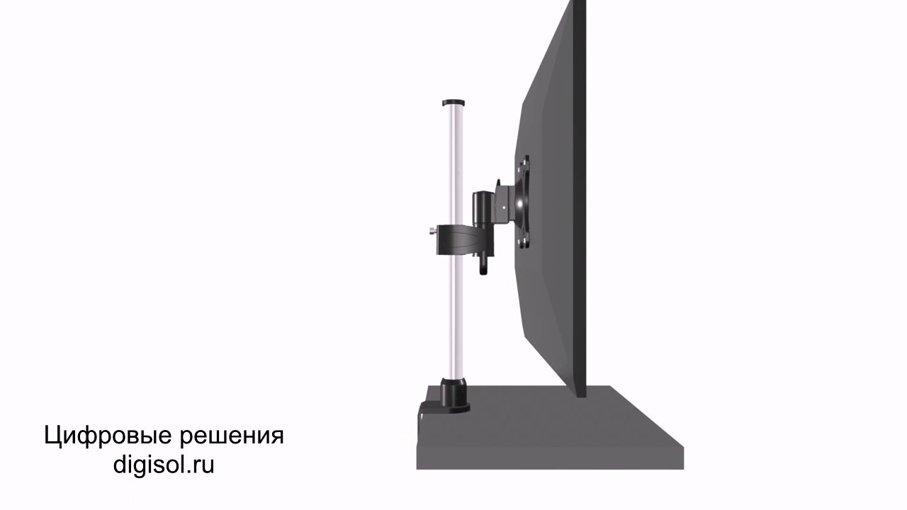 Кронштейны поворотные для телевизора или монитора на стену или потолок купить в интернет-магазине норд.
