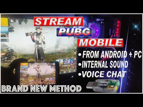 How To Stream PUBG Mobile And RECORD On PC With INTERNAL SOUND + VOICE CHAT | OBS || HINDI
