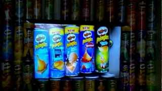 My collection of 100 different Pringles cans [HD]