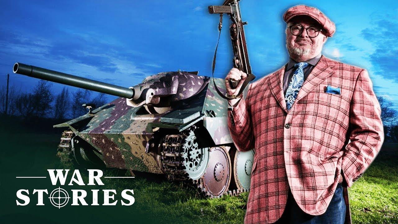 Driving A Deadly WWII Hetzer Tank | Combat Dealers | War Stories