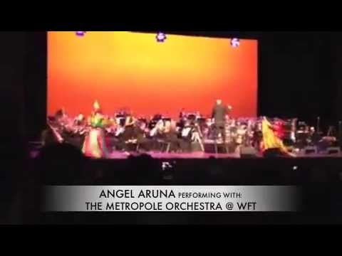ANGEL ARUNA performing with The Metropole Orchestra