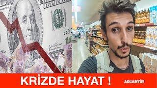 Ekonomik Krizde Hayat Nasıl Olur? - ARJANTİN'de Market Fiyatları