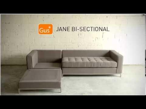 Wonderful Jane Bi Sectional By Gus