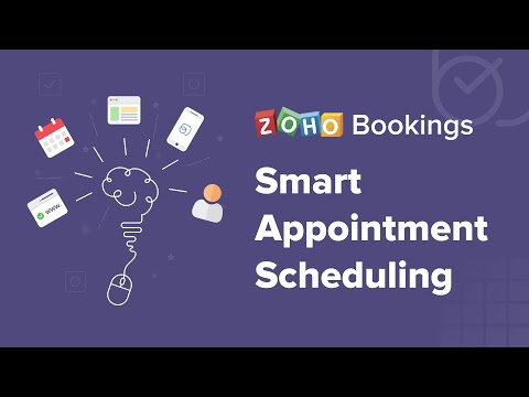 Zoho Bookings Overview Video - Appointment scheduling software for offering the best consultations