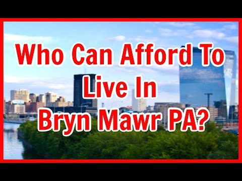 Bryn Mawr PA Cost of Living in Rosemont & Garrett Hill