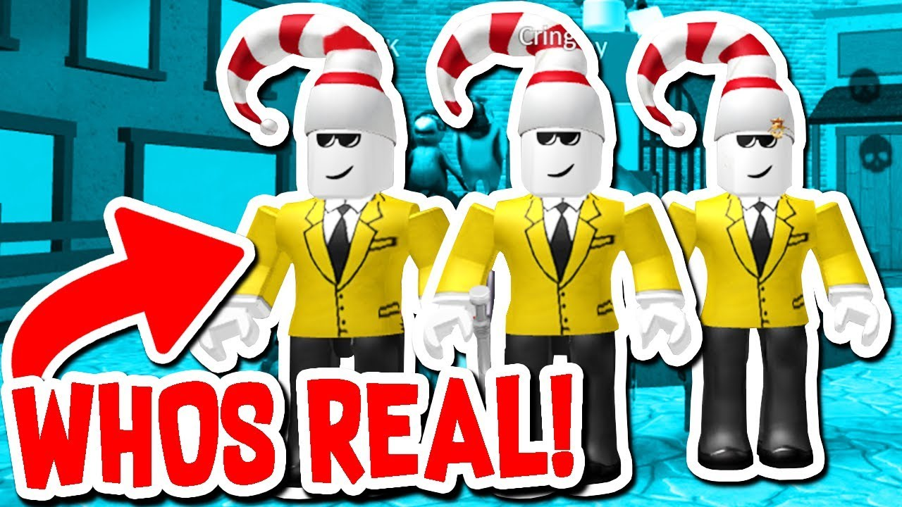 who u0026 39 s the real cringley    youtuber only   roblox murder
