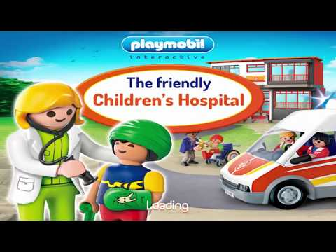 PLAYMOBIL : Children's Hospital - App for Kids #MakeForKids