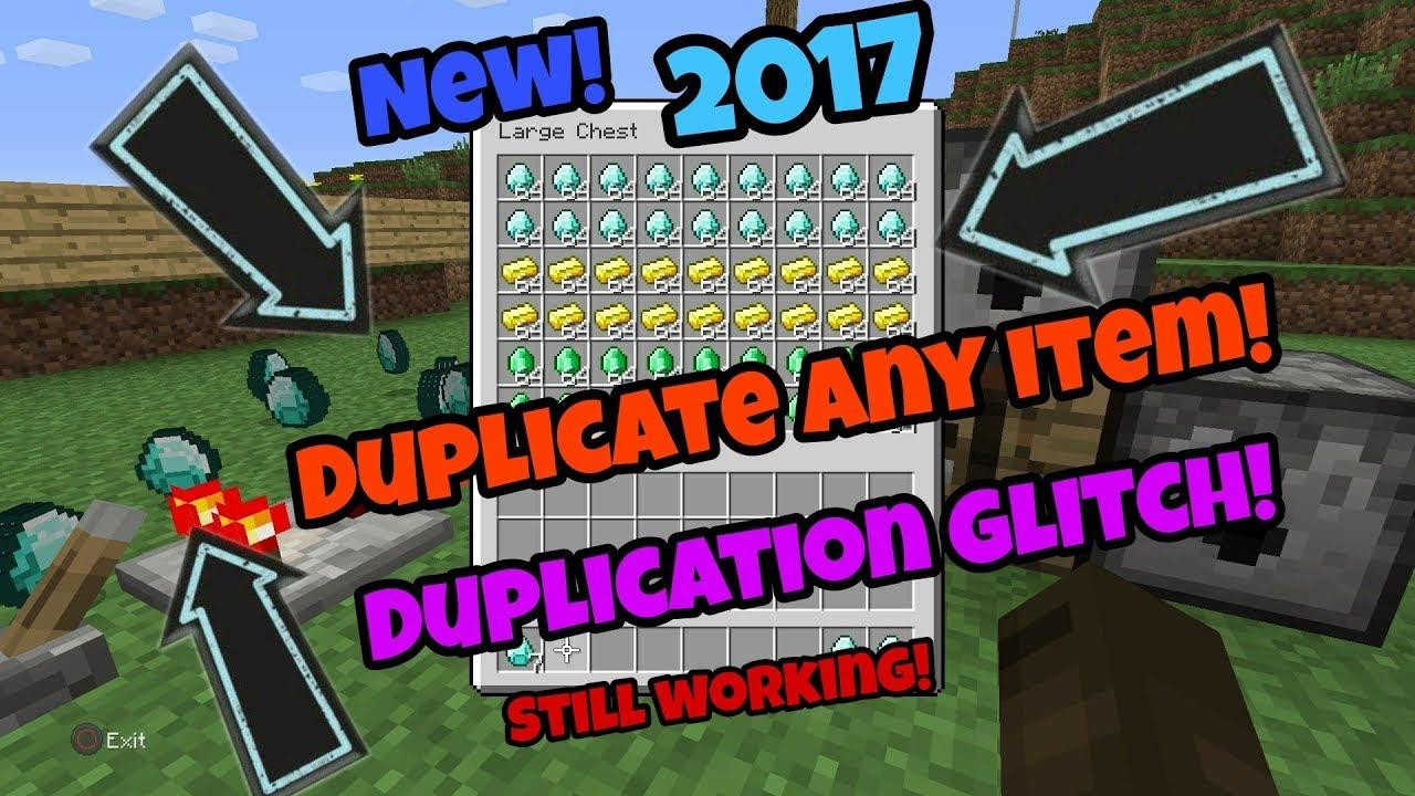 Minecraft Ps Xbox One Duplication Glitch New October