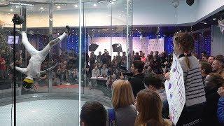 Полёты в аэротрубе: первый чемпионат России состоялся в Подмосковье (новости)