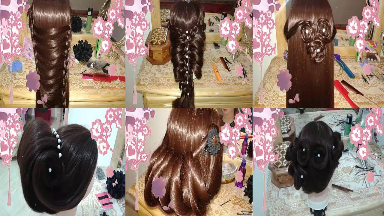 peinados para cabello largo faciles y rapidos para fiesta de noche