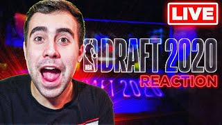 2020 NBA DRAFT LIVE REACTION!