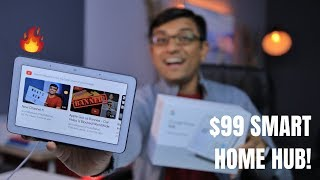 The New $99 Google Home Hub What Can It Do! |UNBOXING + SETUP FEATURES|
