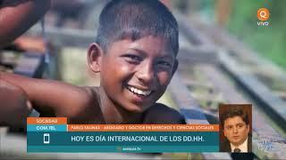 Día internacional de los DDHH (llamado a Pablo Salinas)