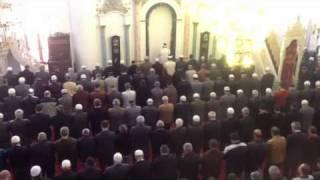 Hisar Camii'de Cuma namazı 18 kasım 2011