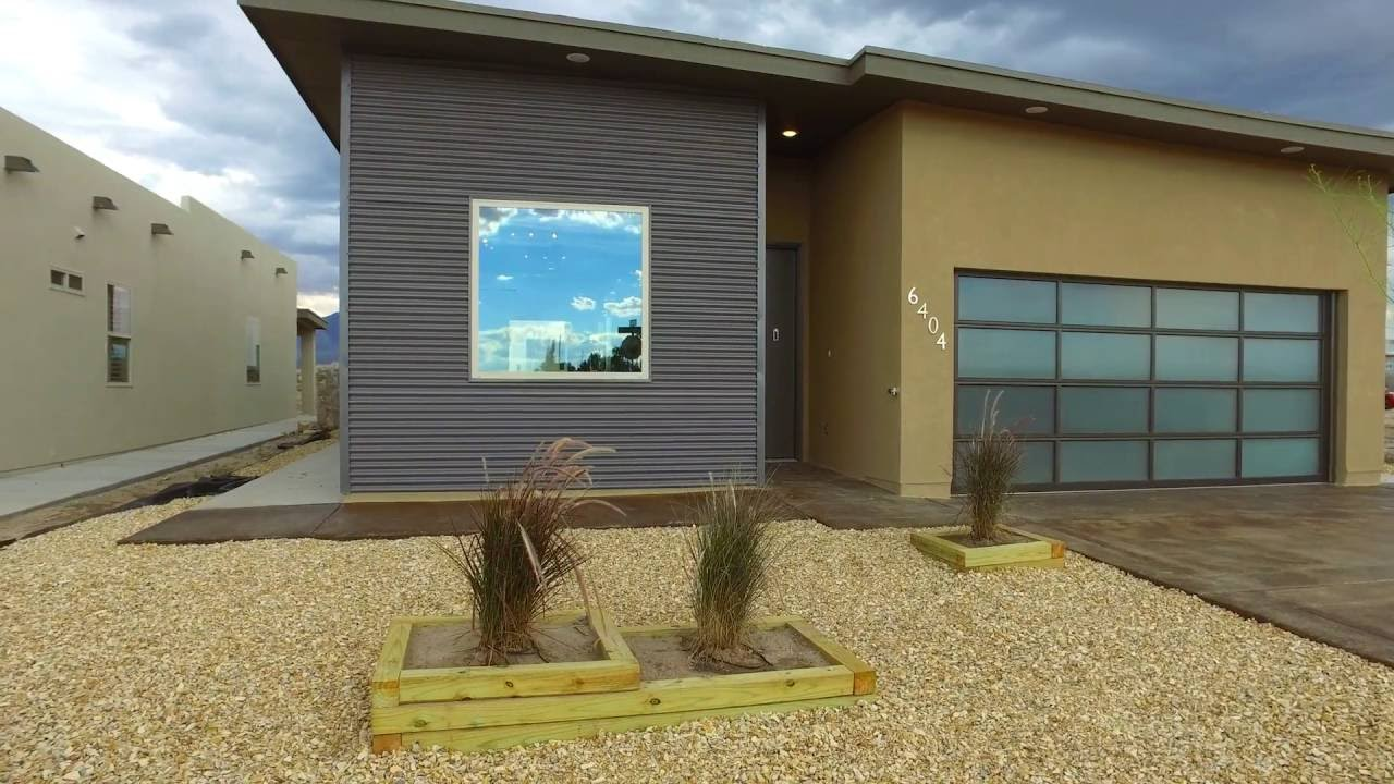 Model 1450 m by mark winton youtube for Modern homes el paso
