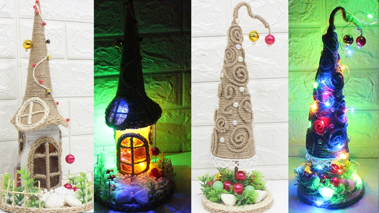 5 Jute Craft Ideas Christmas Decoration Ideas Home Decorating Idea