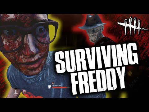 SURVIVING FREDDY! (or trying to) Dead by Daylight with HybridPanda