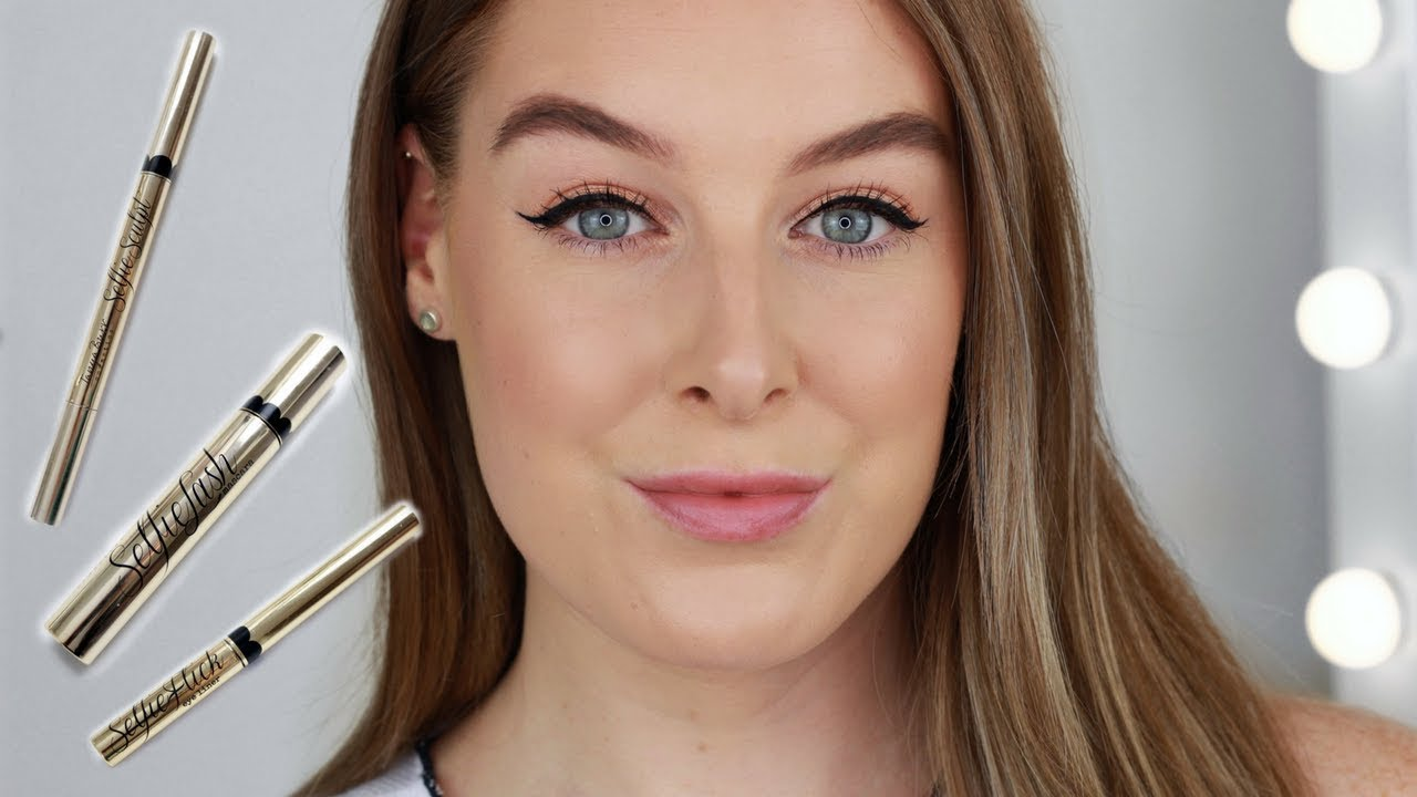 Tanya Burr Cosmetics Selfie Story Collection Review Youtube