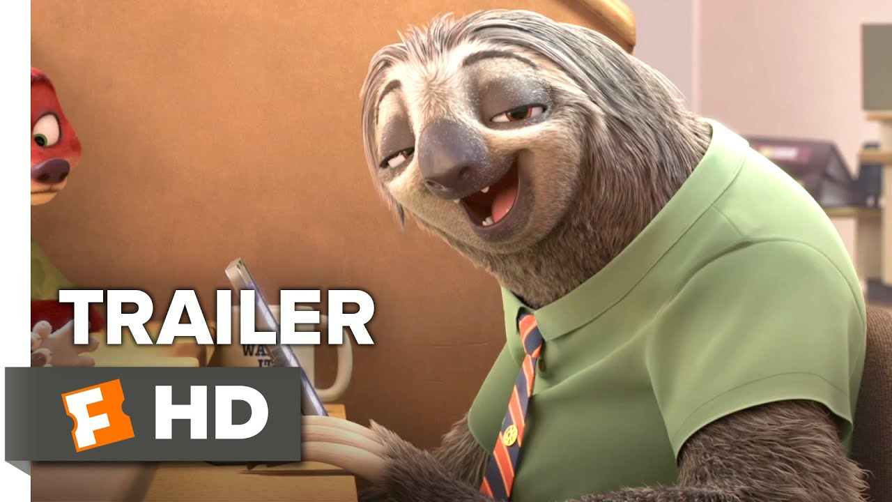 additional sos sloth from zootopia video