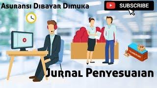 Latihan Soal Jurnal Penyesuaian  1/5  - Akuntansi Perusahaan Manufaktur.