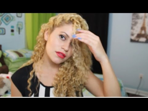 styling curly hair twist out youtube