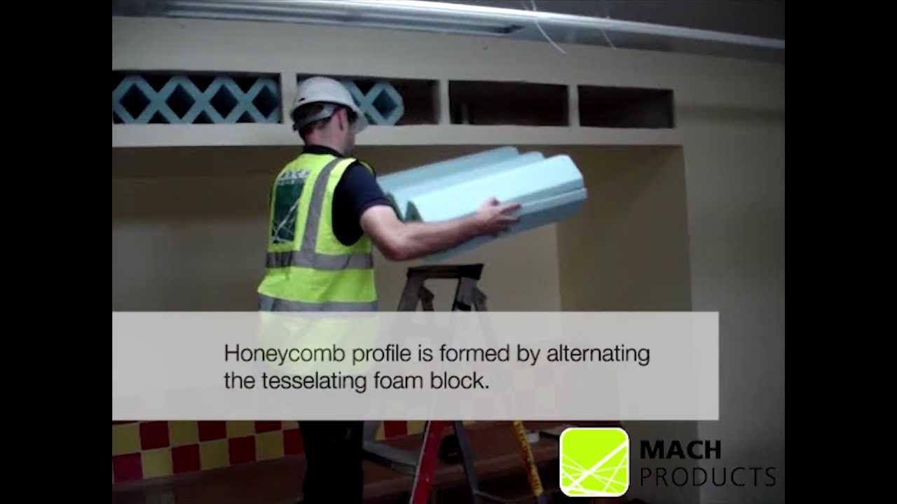 Honeycomb Attenuator Cross Ventilation Bulkhead Installation - Acoustics  and Ventilation