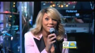 Tamar Braxton Performs 'Love and War' on 'Good Morning America'  12/19/12