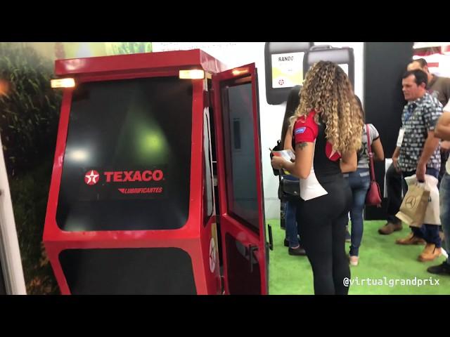 Simulador - Colheitadeira de Cana   Taxaco @ Fenasucro 2019