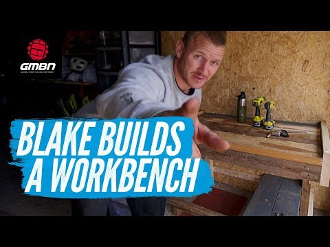 How To Build A Workbench | Blake Builds A Workshop Bench